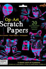 Eeboo Op-Art Scratch Papers