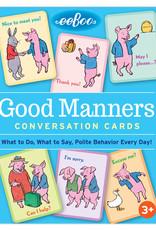 Eeboo Good Manners Conversation Cards
