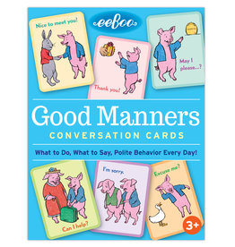 Eeboo Good Manners ConversationCards