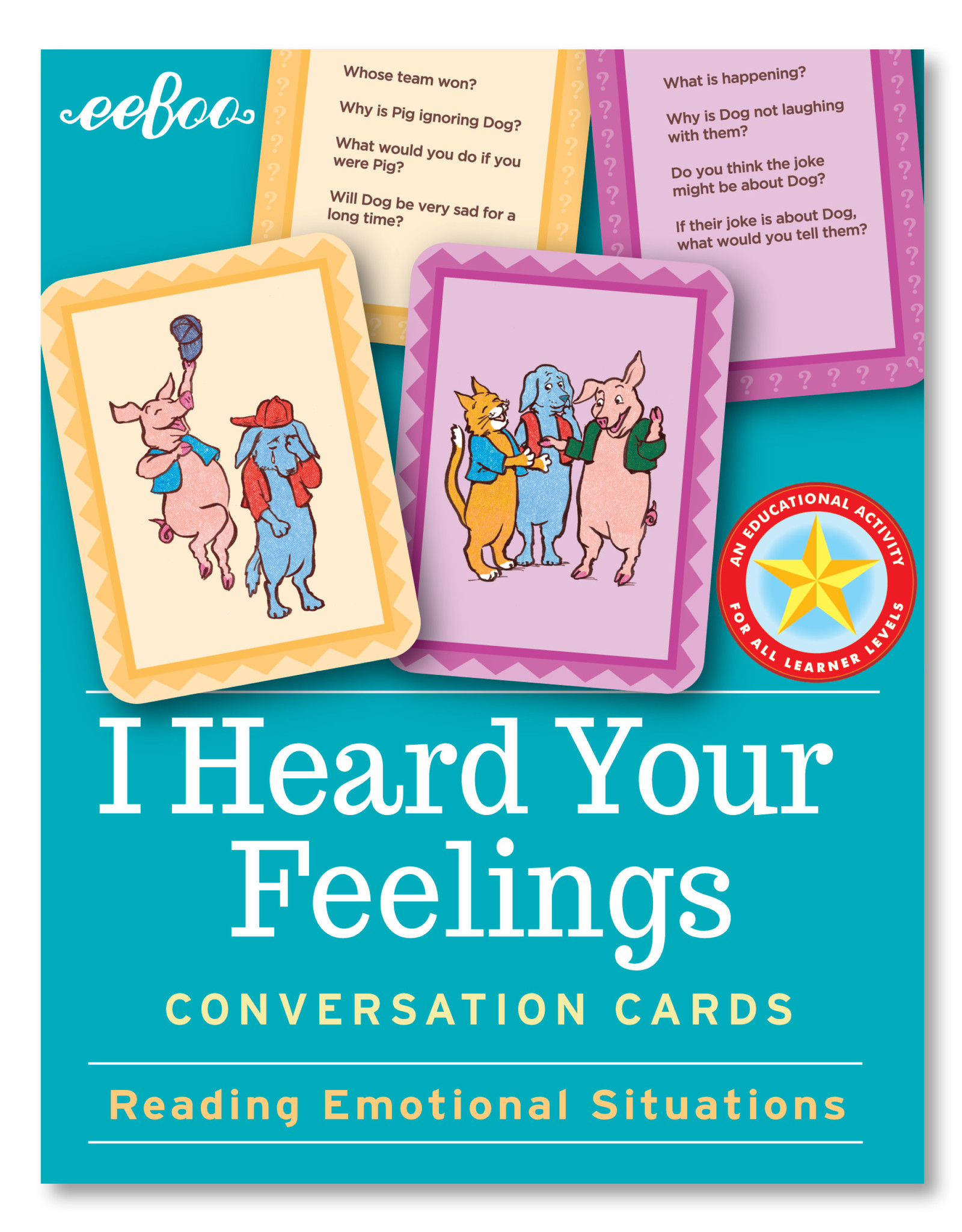 Eeboo I Heard Your Feelings Conversations Cards