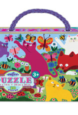 Eeboo 20pc Puzzle Crazy Kittens