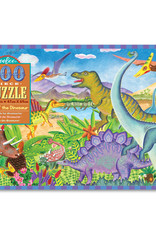 Eeboo 100pc Puzzle Age of the Dinosaur