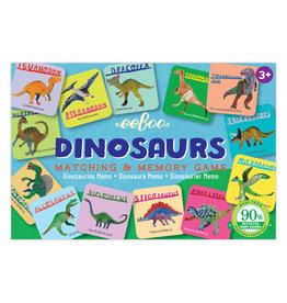 Eeboo Dinosaurs Matching & Memory Game