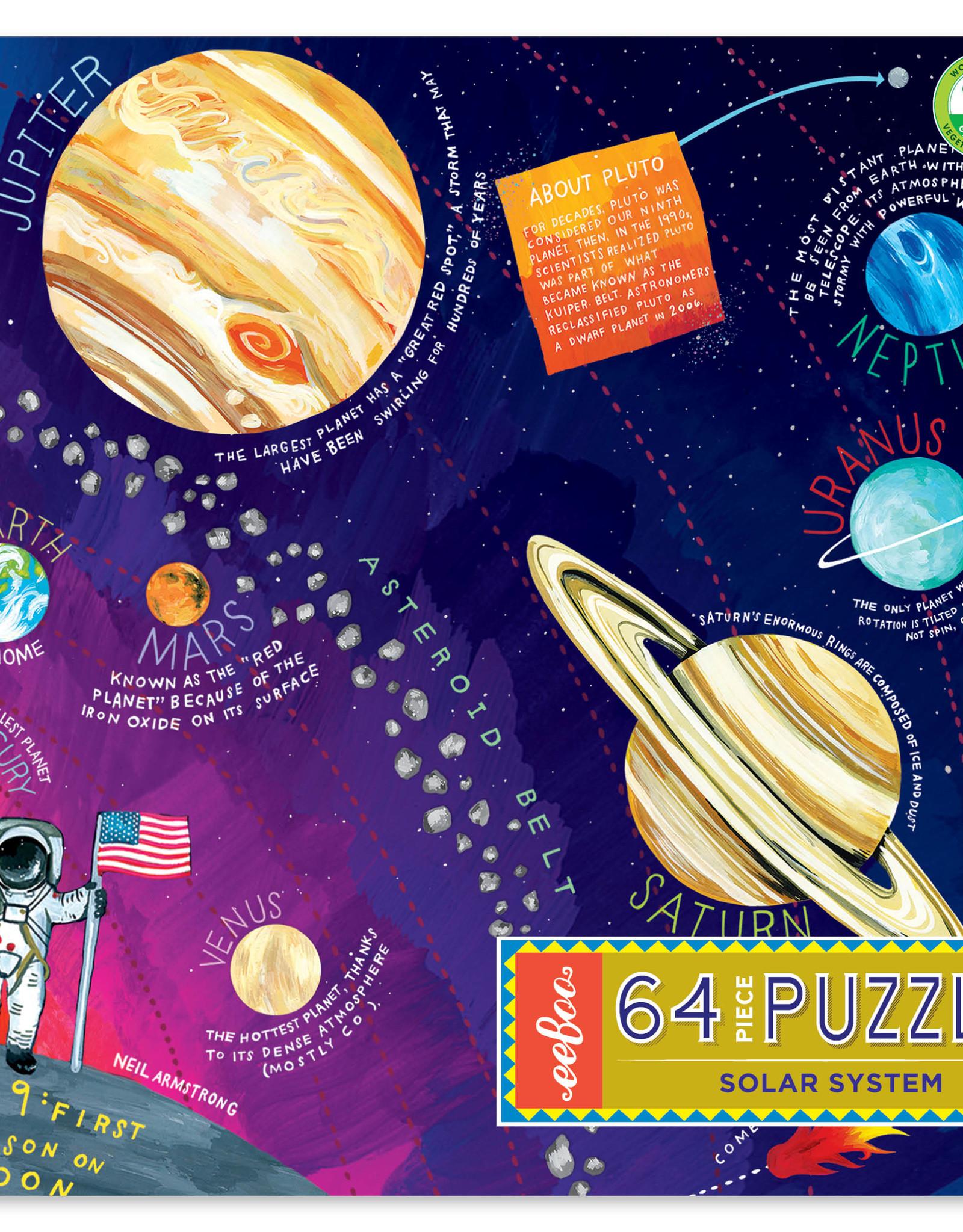 Eeboo 64pc Solar System Puzzle