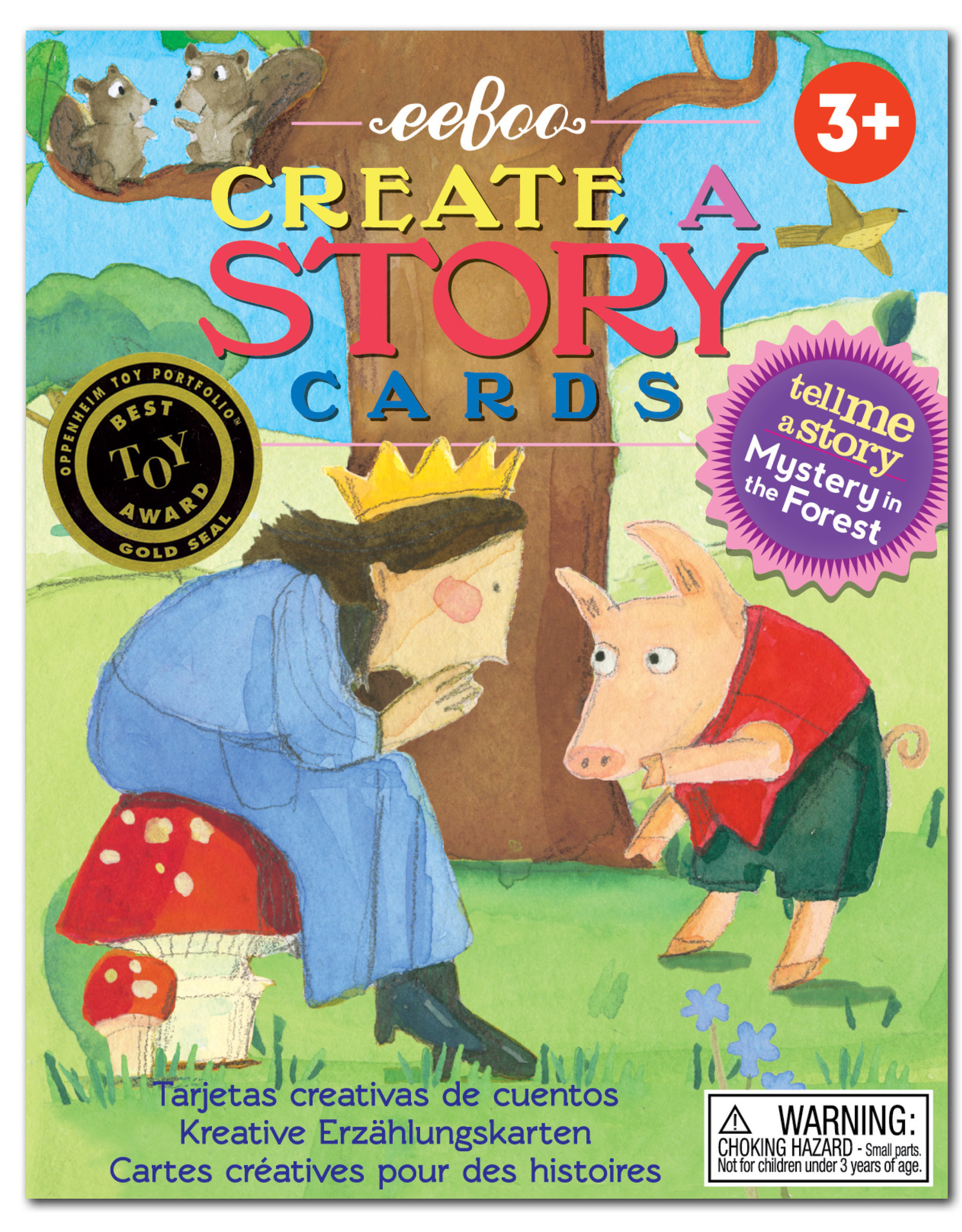 Eeboo Create A Story: Mystery In the Forest
