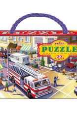 Eeboo 20pc Fire Truck Puzzle