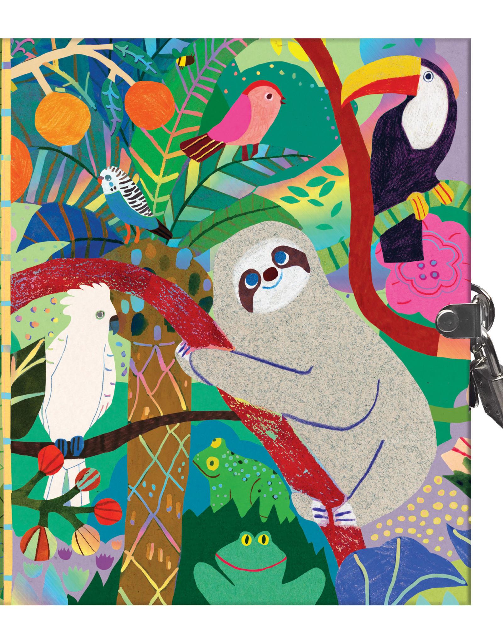 Eeboo Eeboo Secret Sloth Journal