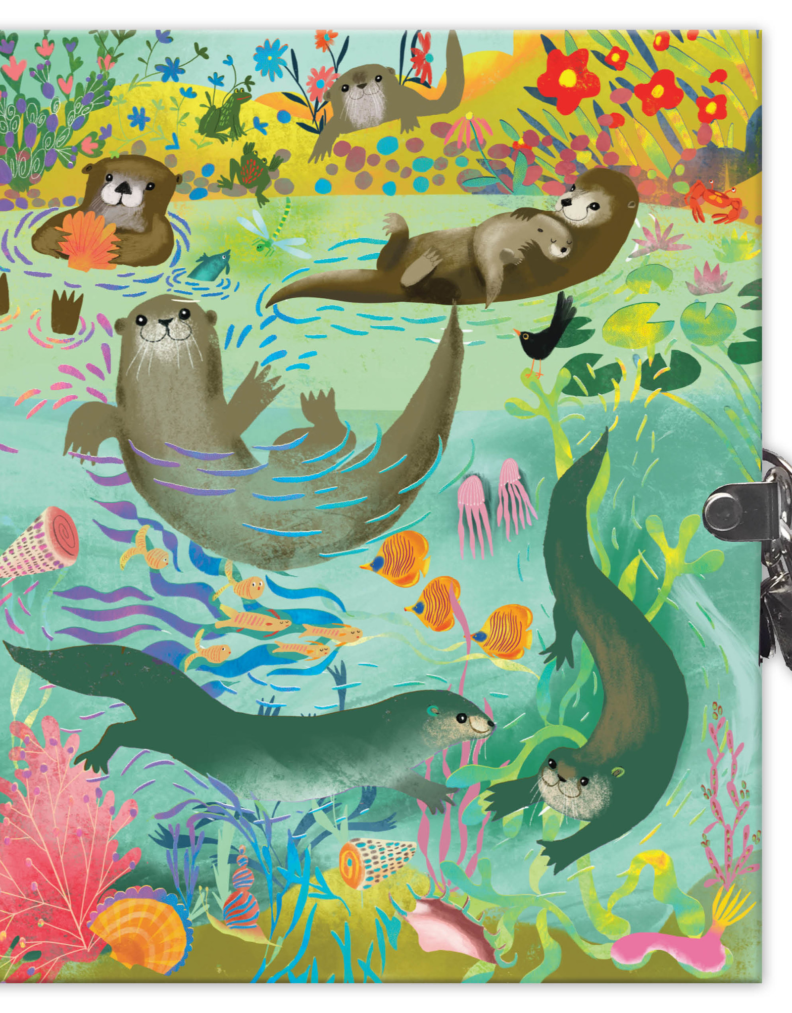 Eeboo Otter Journal