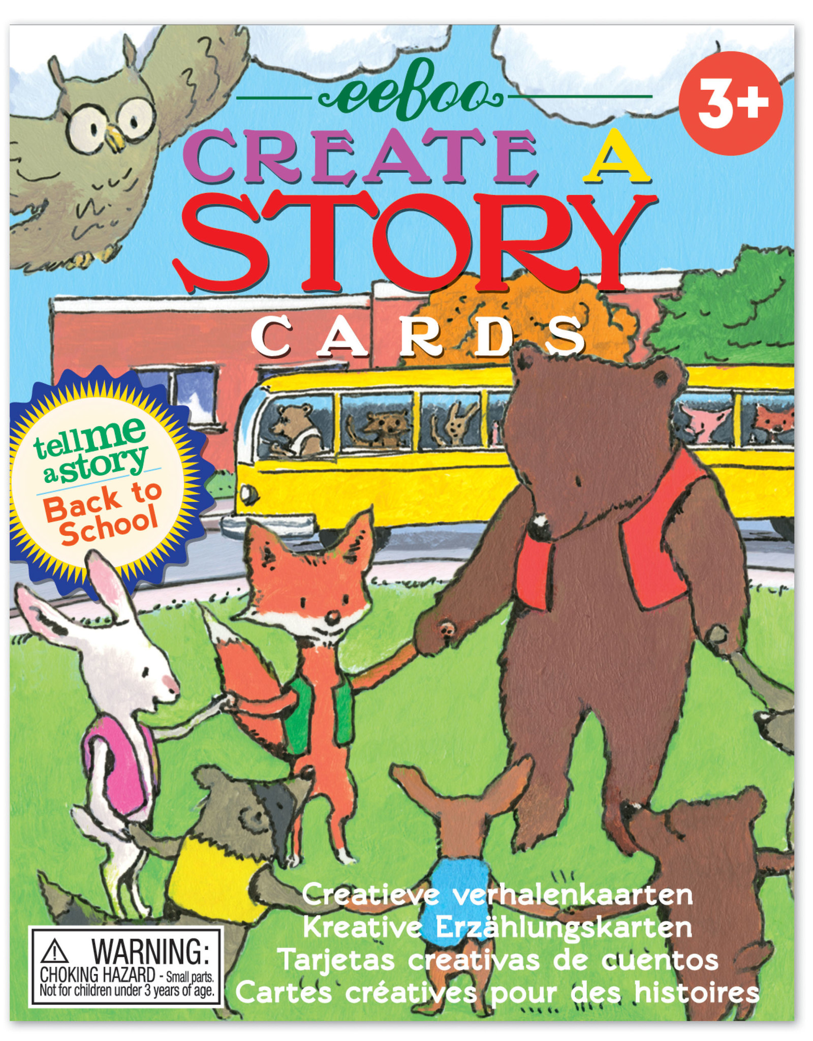 Eeboo Create A Story Back to School