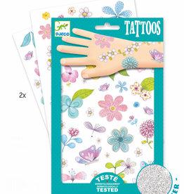 Djeco Tattoos Fair Flowers Of the Fields