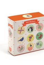 Djeco Stickers 100 Chichi