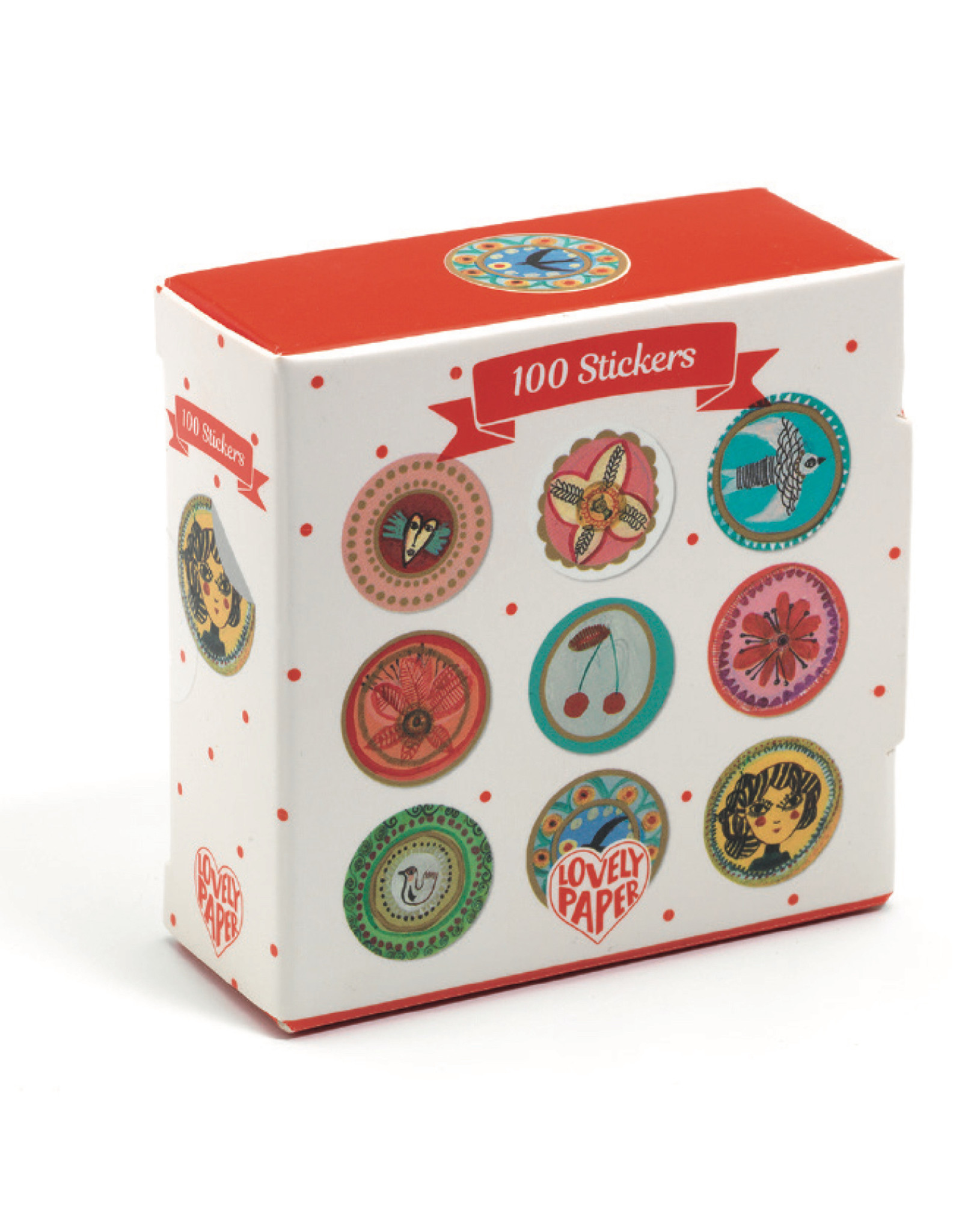 Djeco Stickers 100 Aurelia Stickers