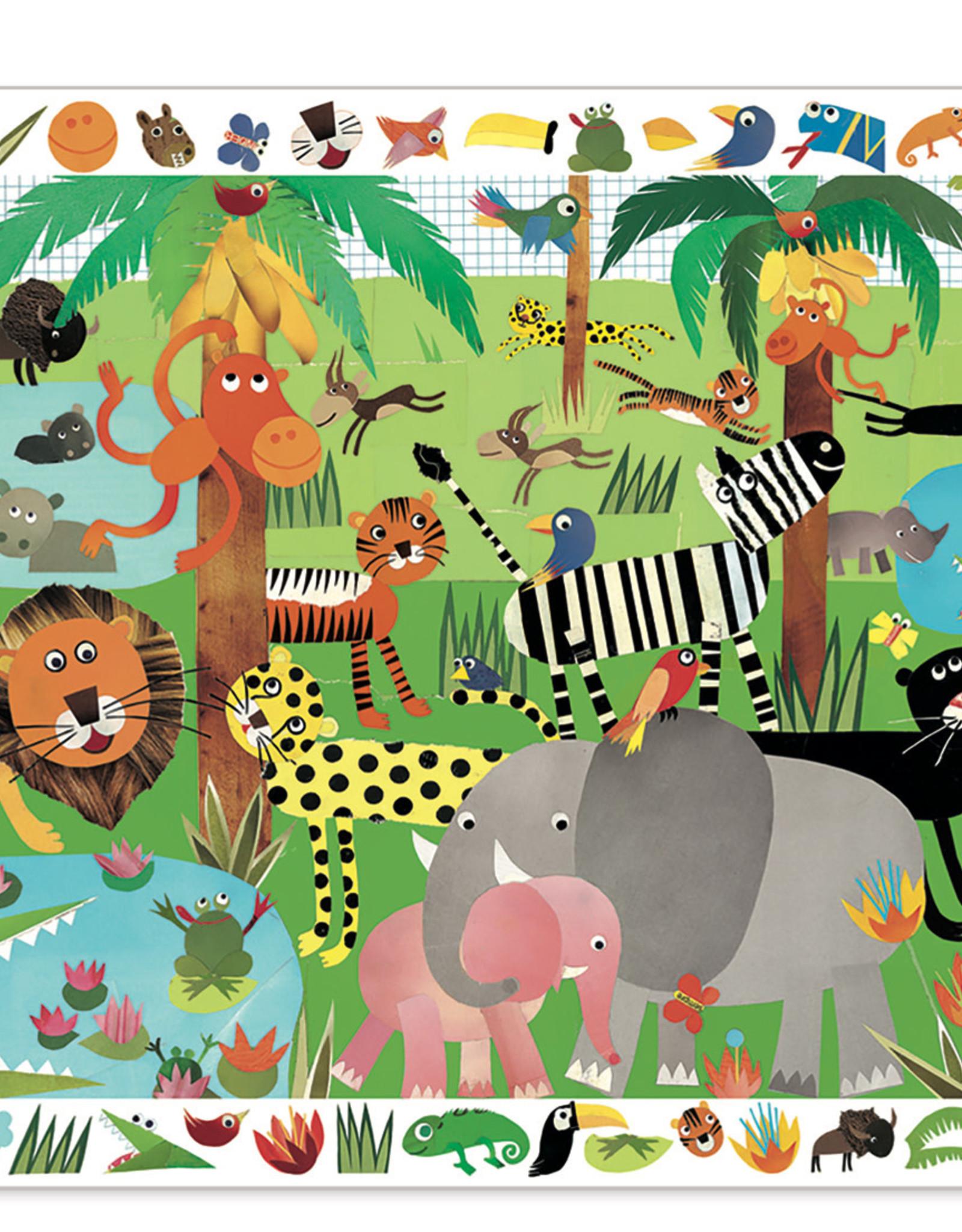 Djeco Observation Puzzles Jungle - 35pcs