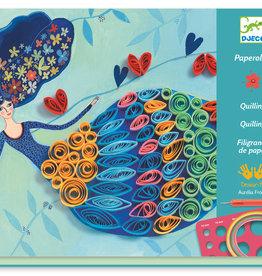 Djeco Le Grand Artist - Quilling Petticoat Scrolls