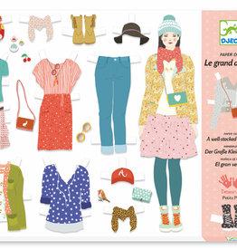 Djeco Le Grand Artist - Paper Fashion Le Grand Dressing Room