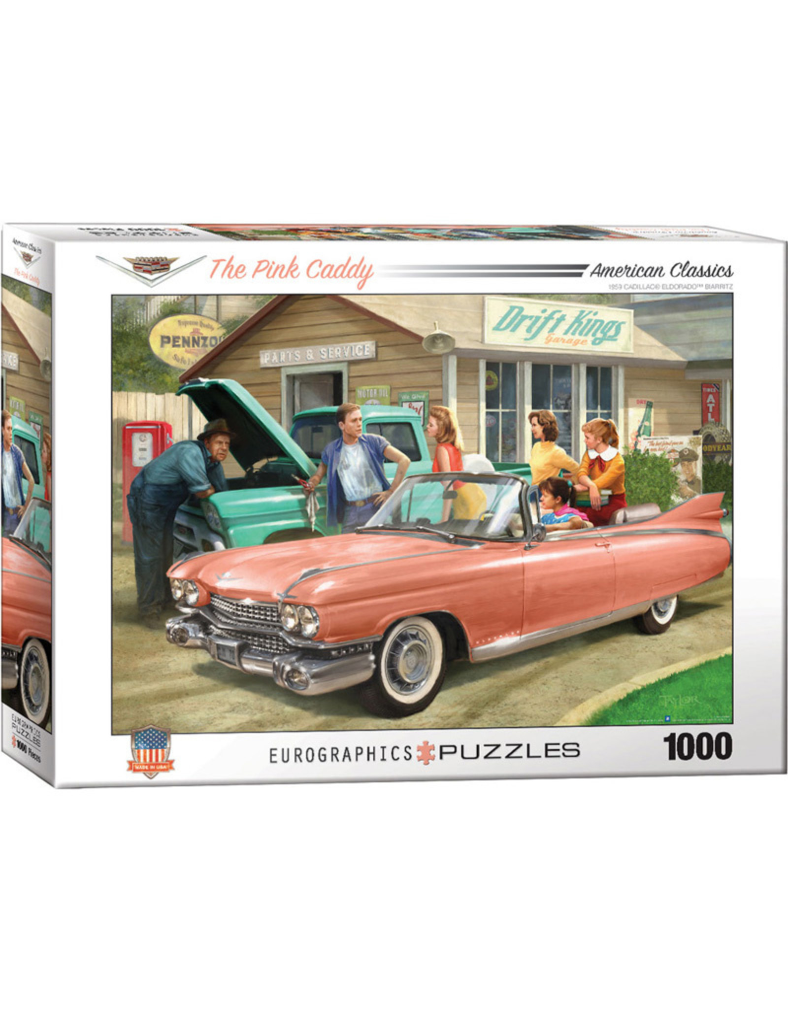 EuroGraphics ##1000pc The Pink Caddy
