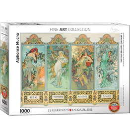 EuroGraphics 1000pc Four Seasons by Alphonse Maria Mucha