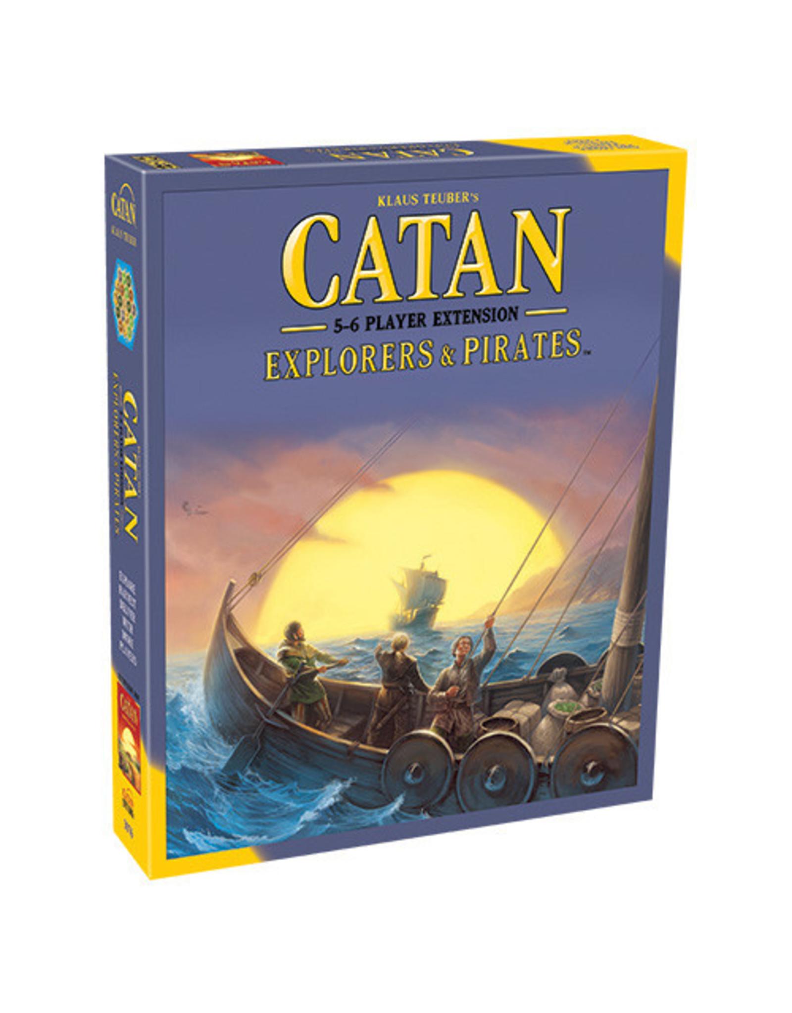 Catan Explorers & Pirates 5/6 Extension