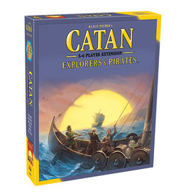 Asmodee Catan Explorers & Pirates 5/6 Extension