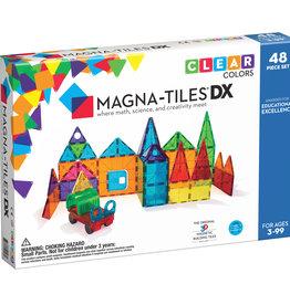 Magna-Tiles Magna-Tiles Clear DX 48 pc set