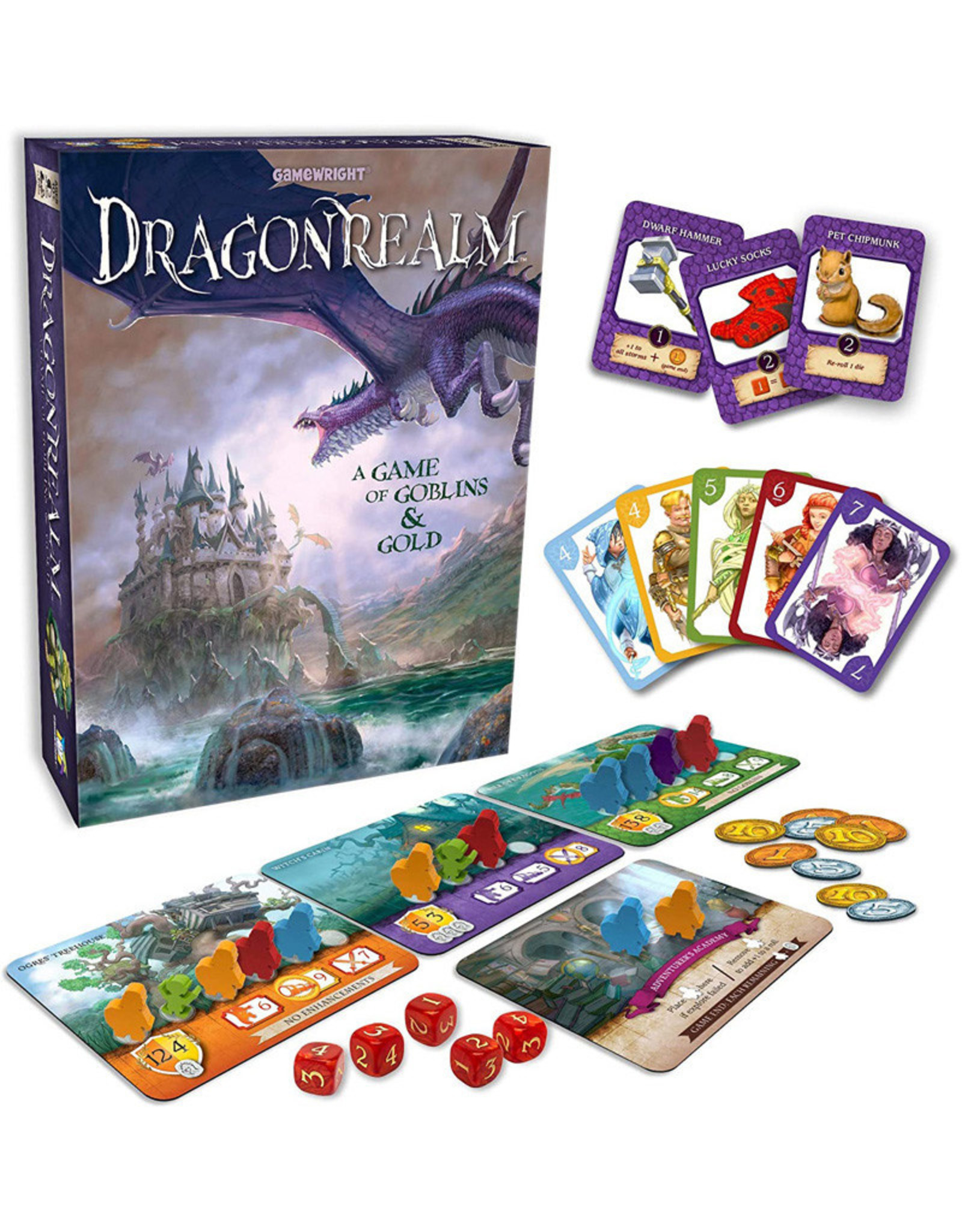 Gamewright Dragonrealm A Game of Goblins & Gold