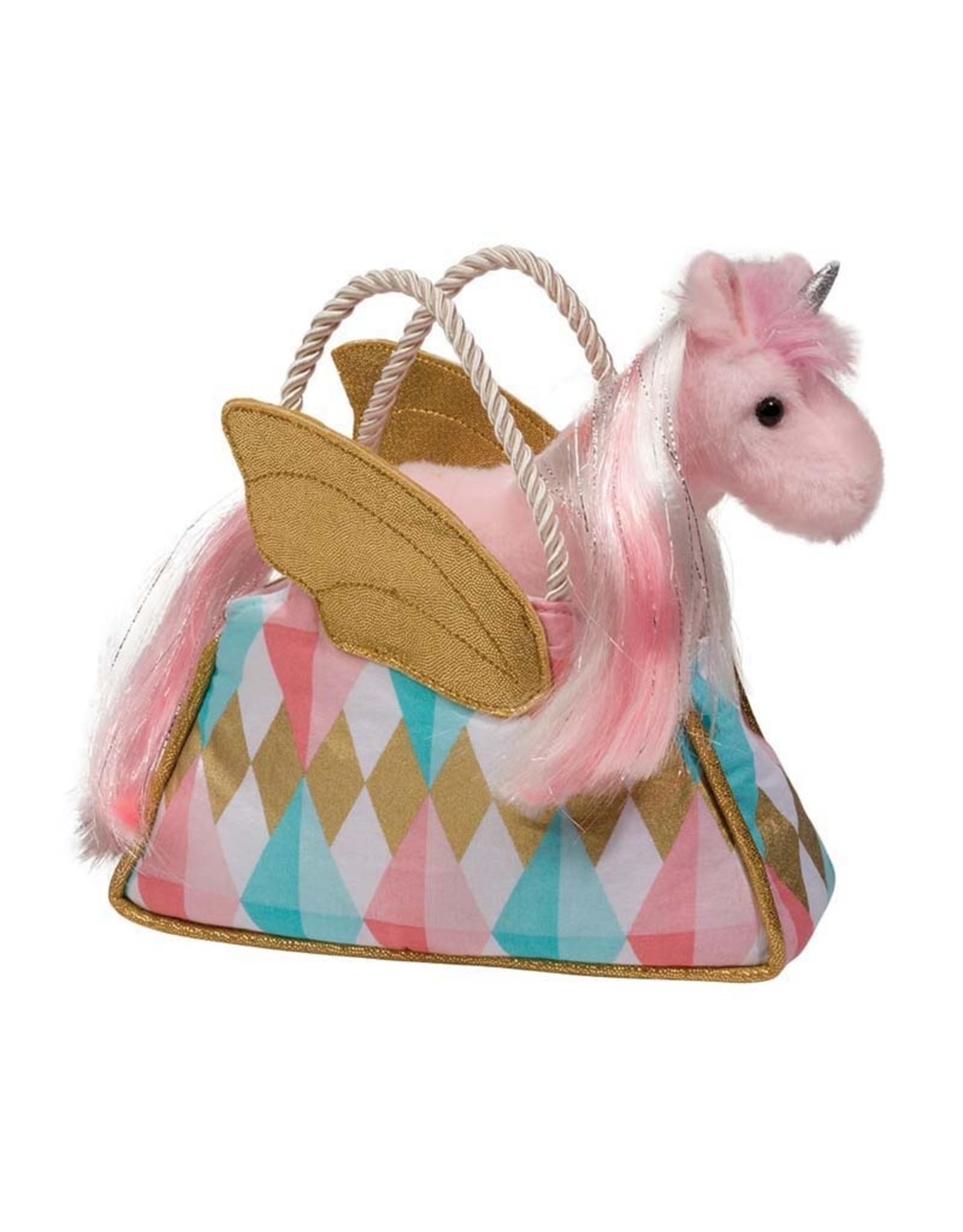 Douglas Glitter Fancy Sassy Sak with Unicorn