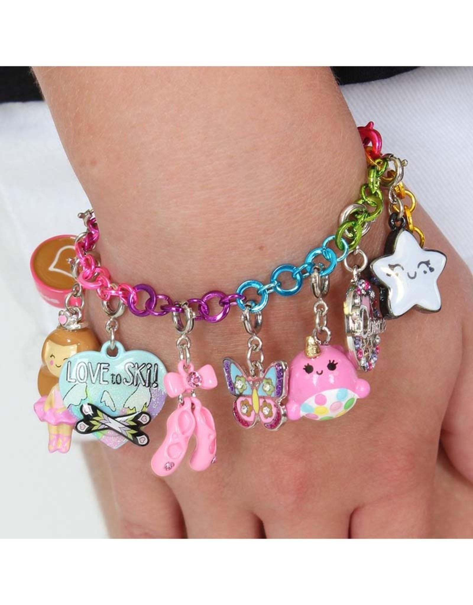 Charm It! CHARM IT! Rainbow Chain Bracelet