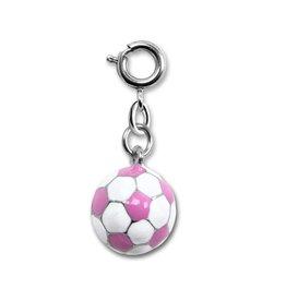 Charm It! Charm It! Pink Soccerball Charm