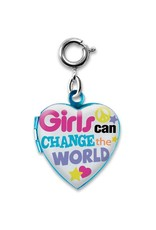 Charm It! Charm It! Girls Can Change the World Charm