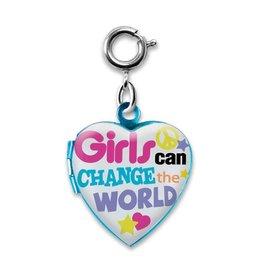 Charm It! Charm It! Girls Can Change the World Charm