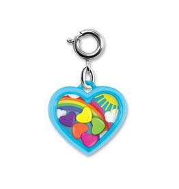 Charm It! Charm It! Rainbow Heart Shaker Charm