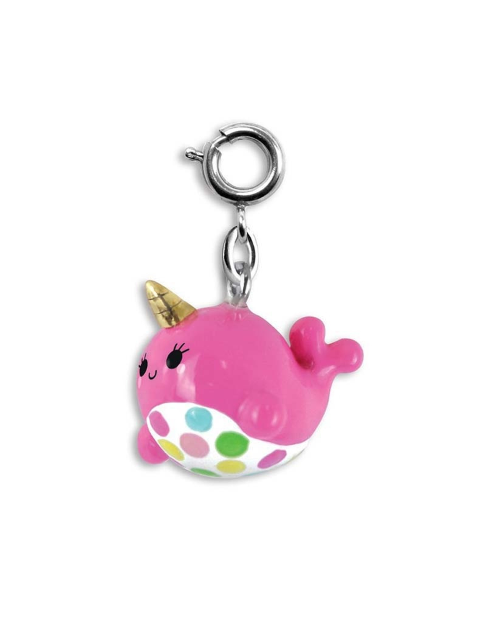 Charm It! Charm It! Pink Narwhal Charm