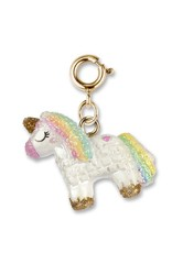 Charm It! Charm It! Gold Unicorn Pinata Charm
