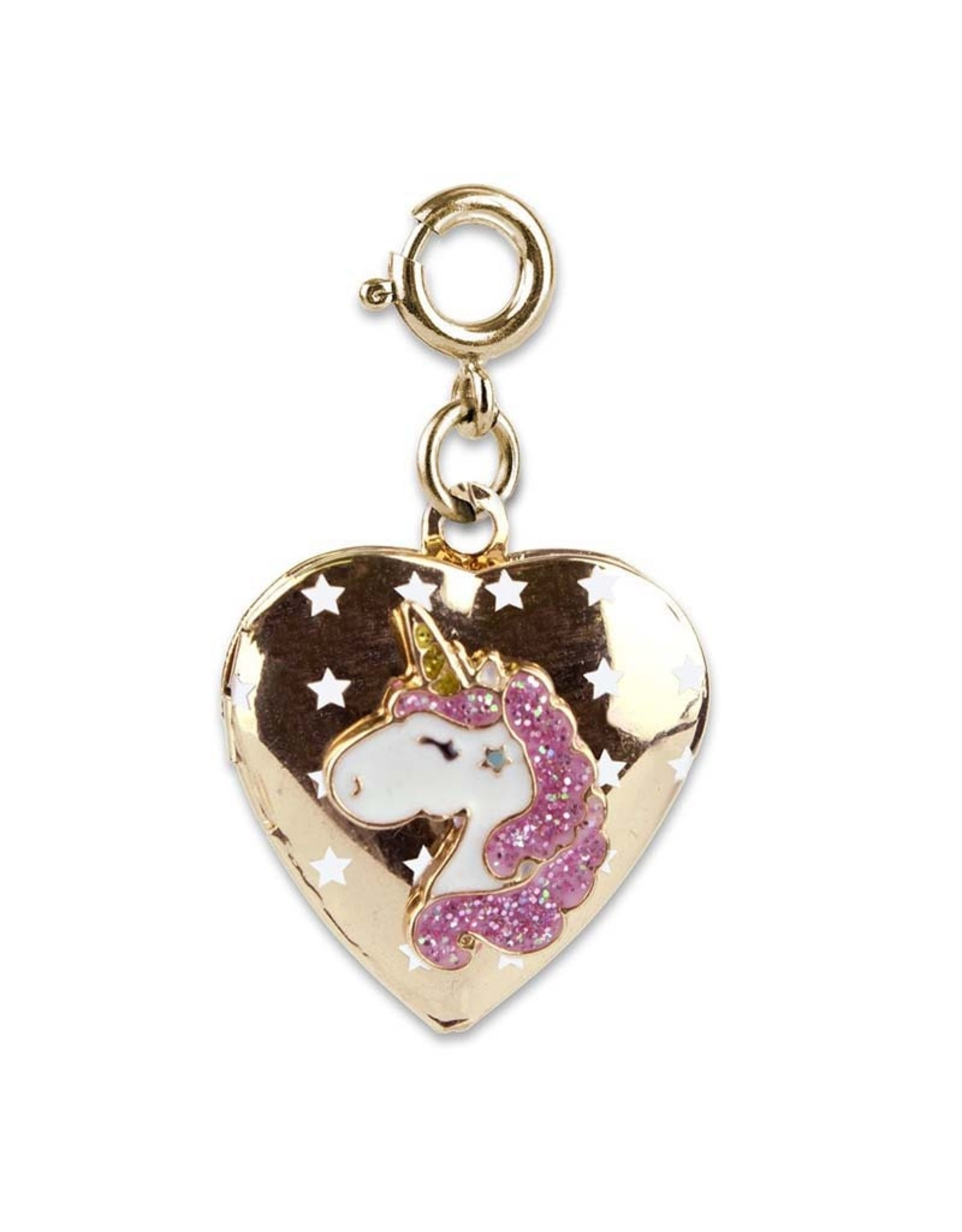 Charm It! Charm It!  Gold Unicorn Locket Charm