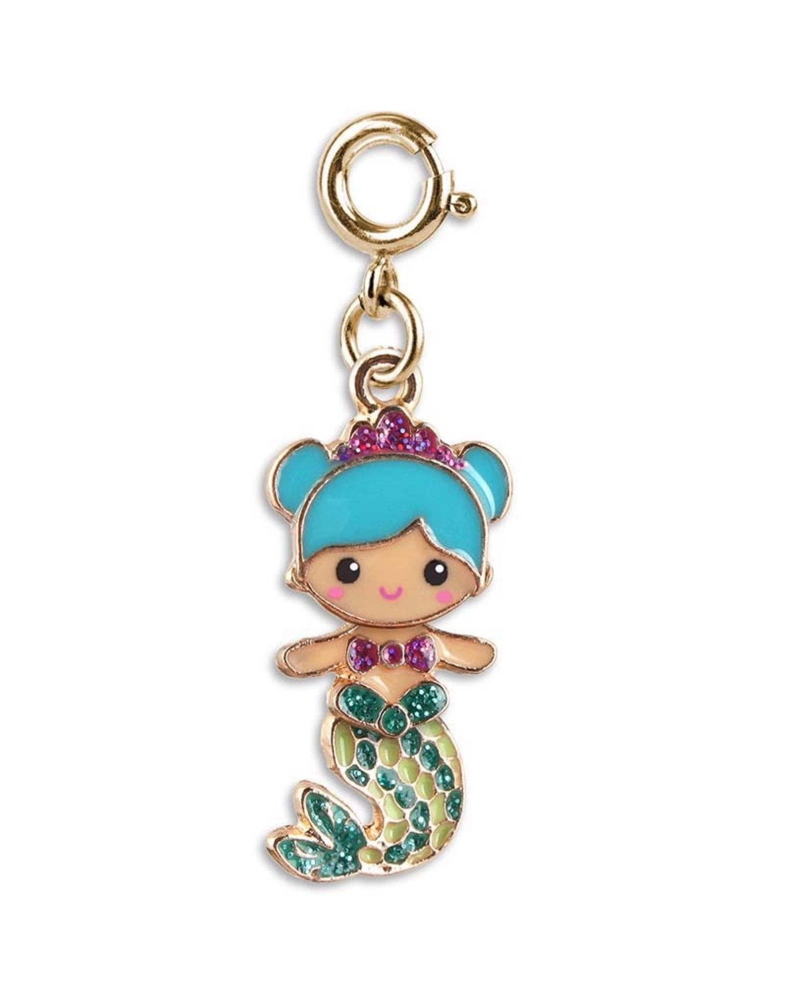 Charm It! Charm It! Gold Swivel Mermaid Charm