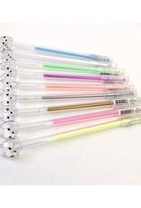 BC Office Rainbow Diamond Cat Gel Pen