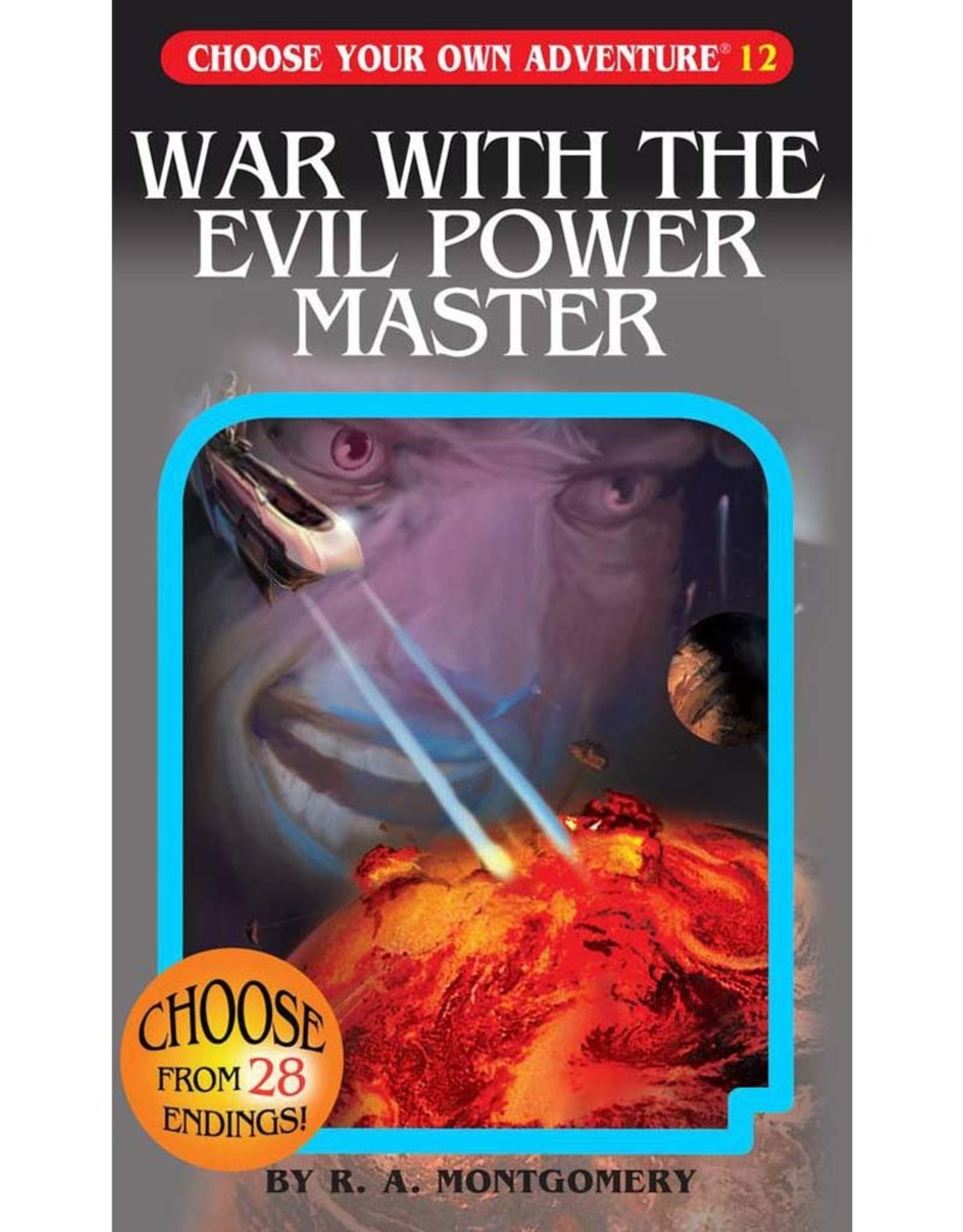 ChooseCo CYOA #12 War With The Evil Power Master