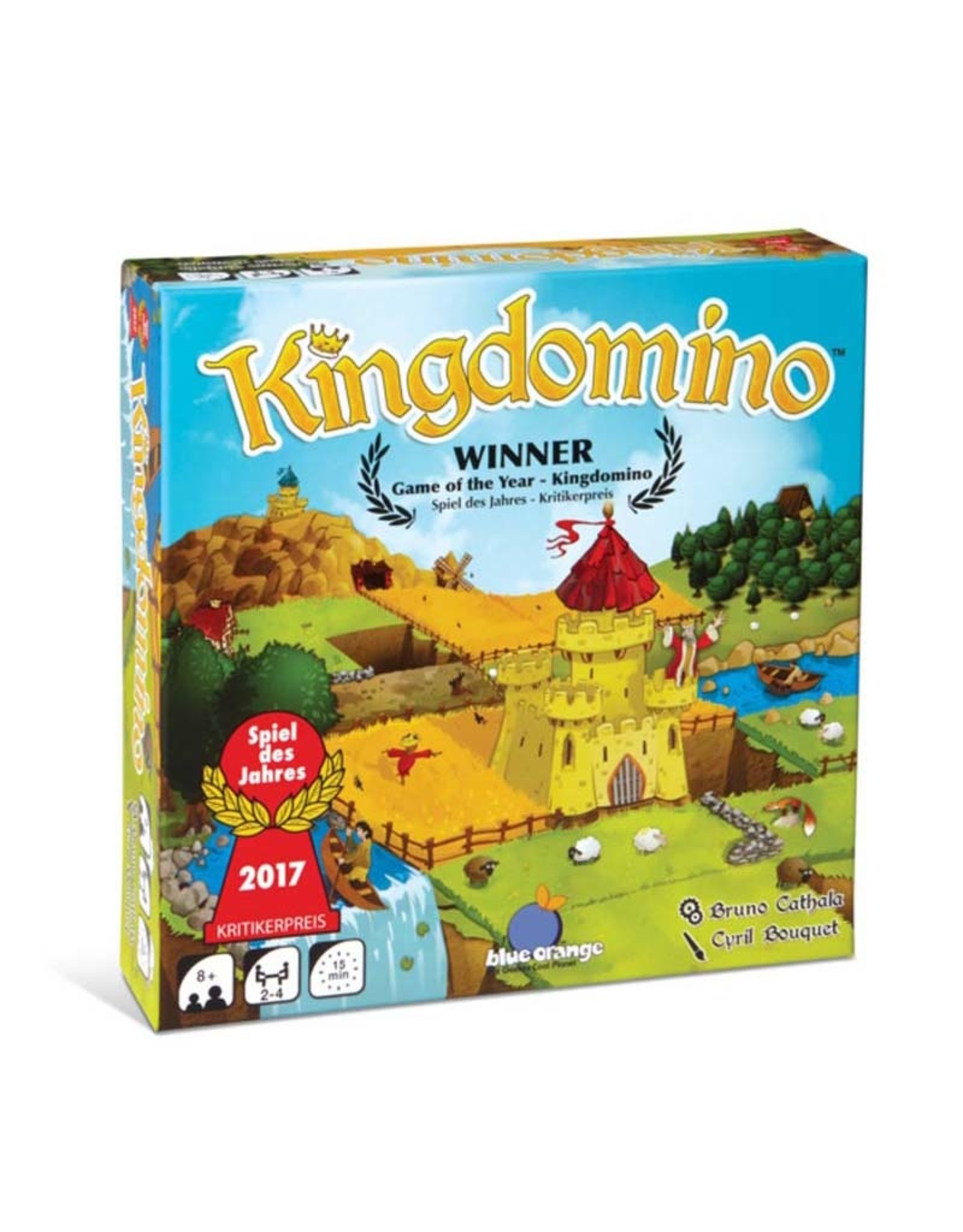 Blue Orange Games ! Kingdomino