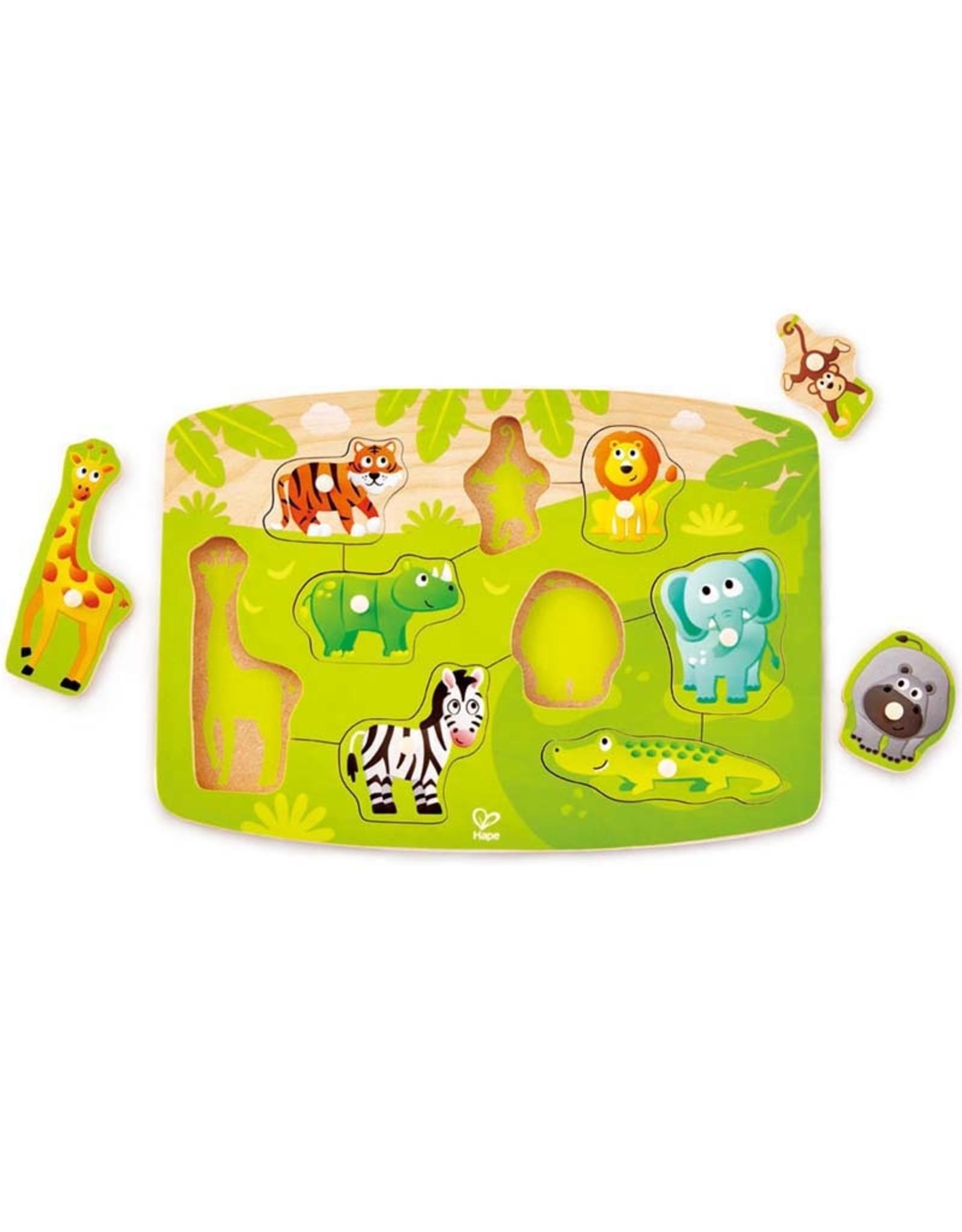 Jungle Peg Puzzle