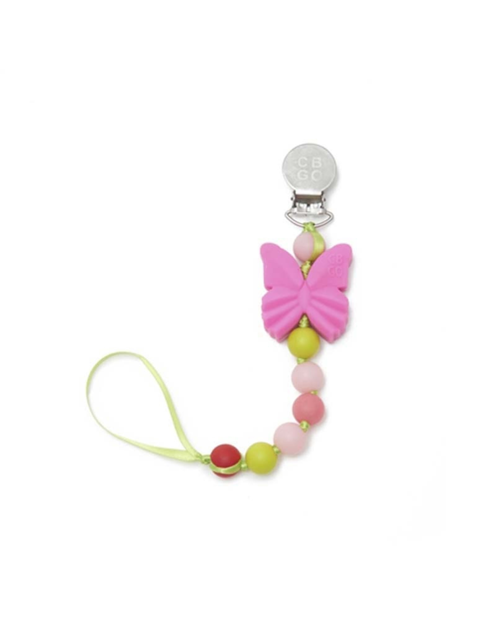 Chewbeads Pacifier Clip Butterfly