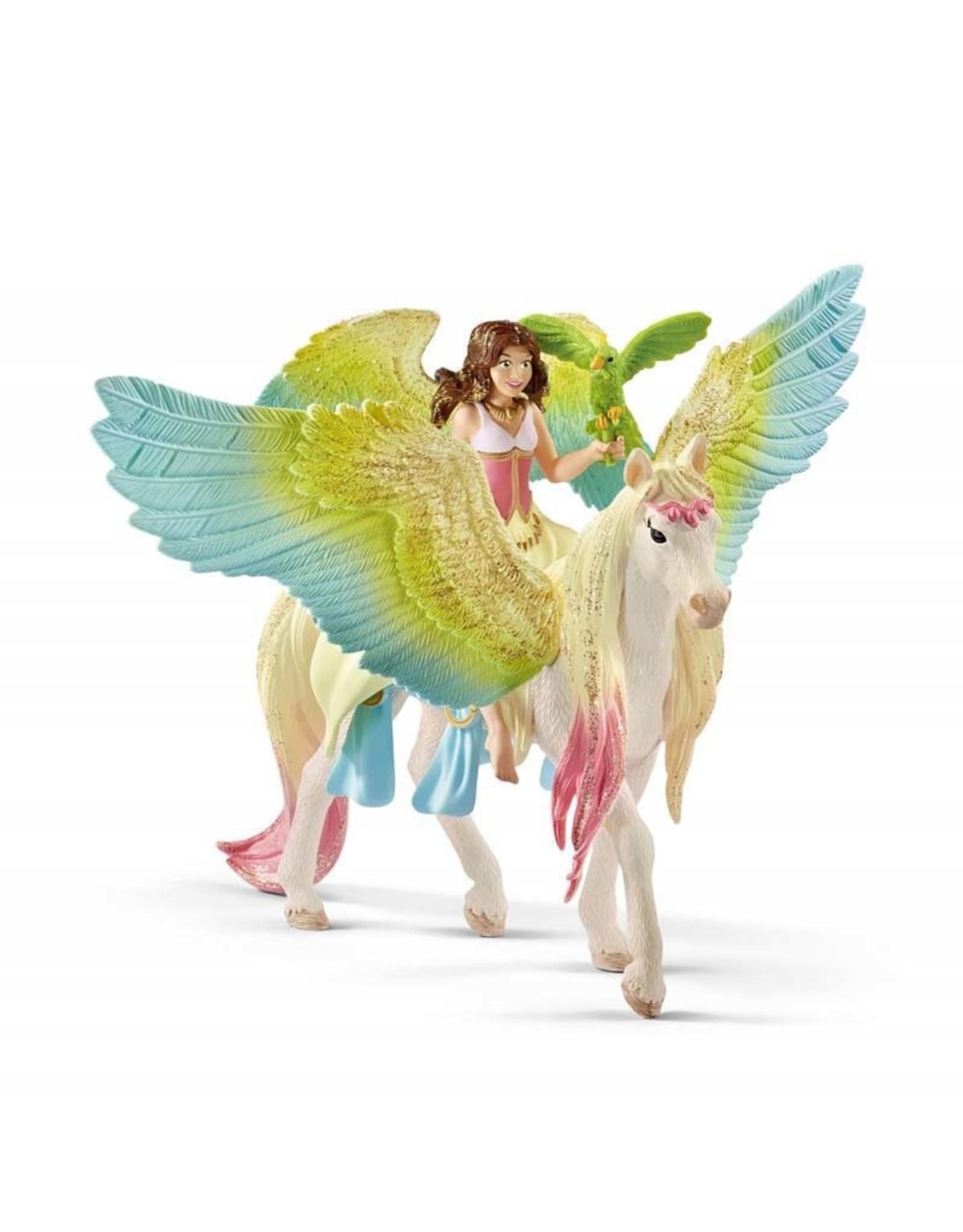 Schleich Schleich Fairy Surah w/Glitter Pegasus