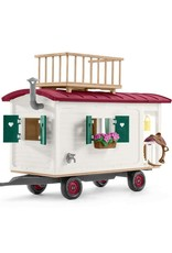 Schleich Caravan for secret club meetings