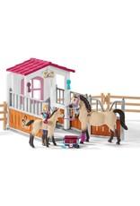 Schleich Schleich Horse Stall w/Arab and Groom