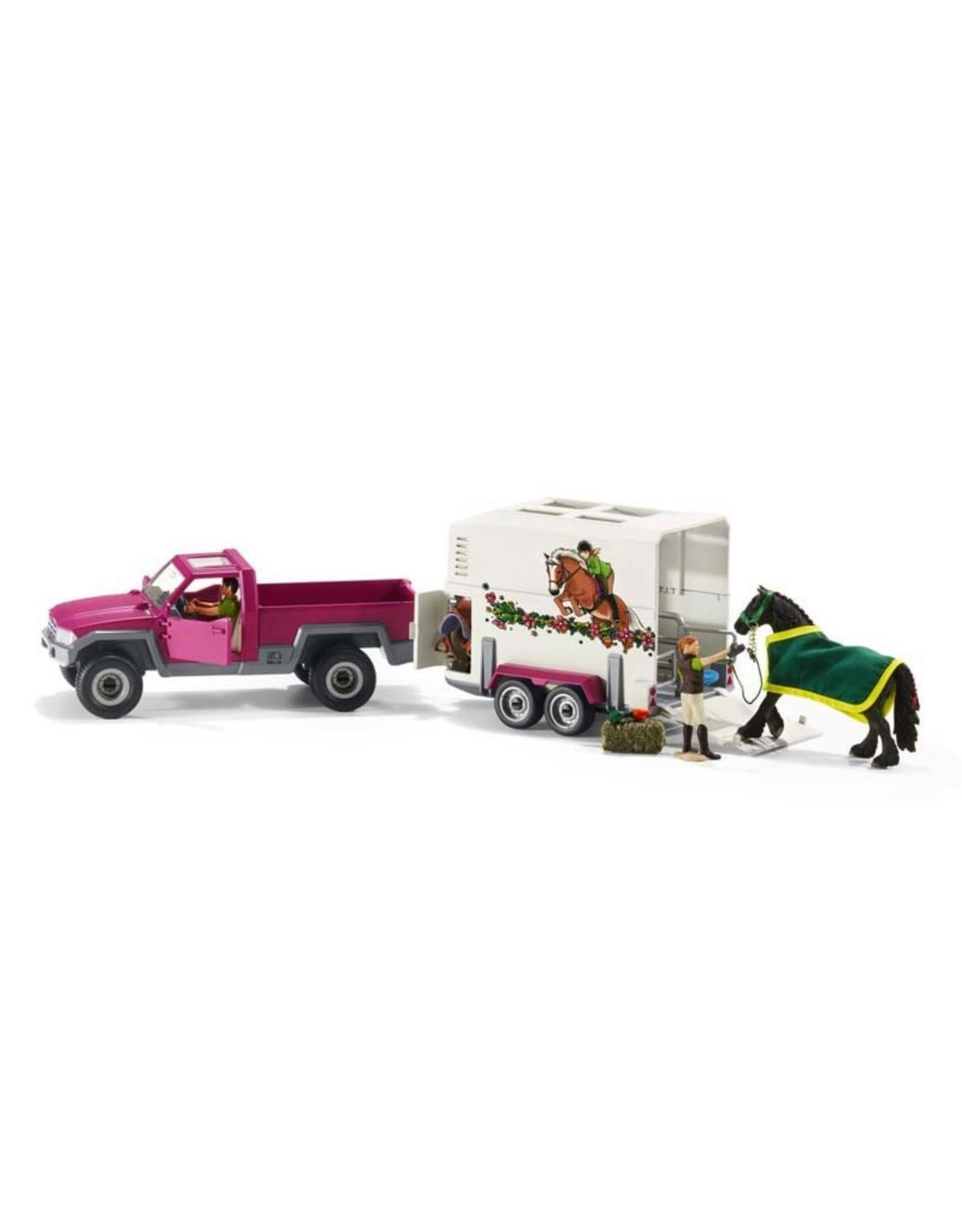 Schleich Schleich Pick up with horse box