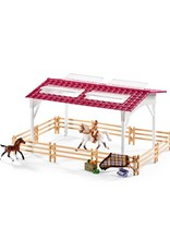 Schleich Schleich Riding center with rider and horses