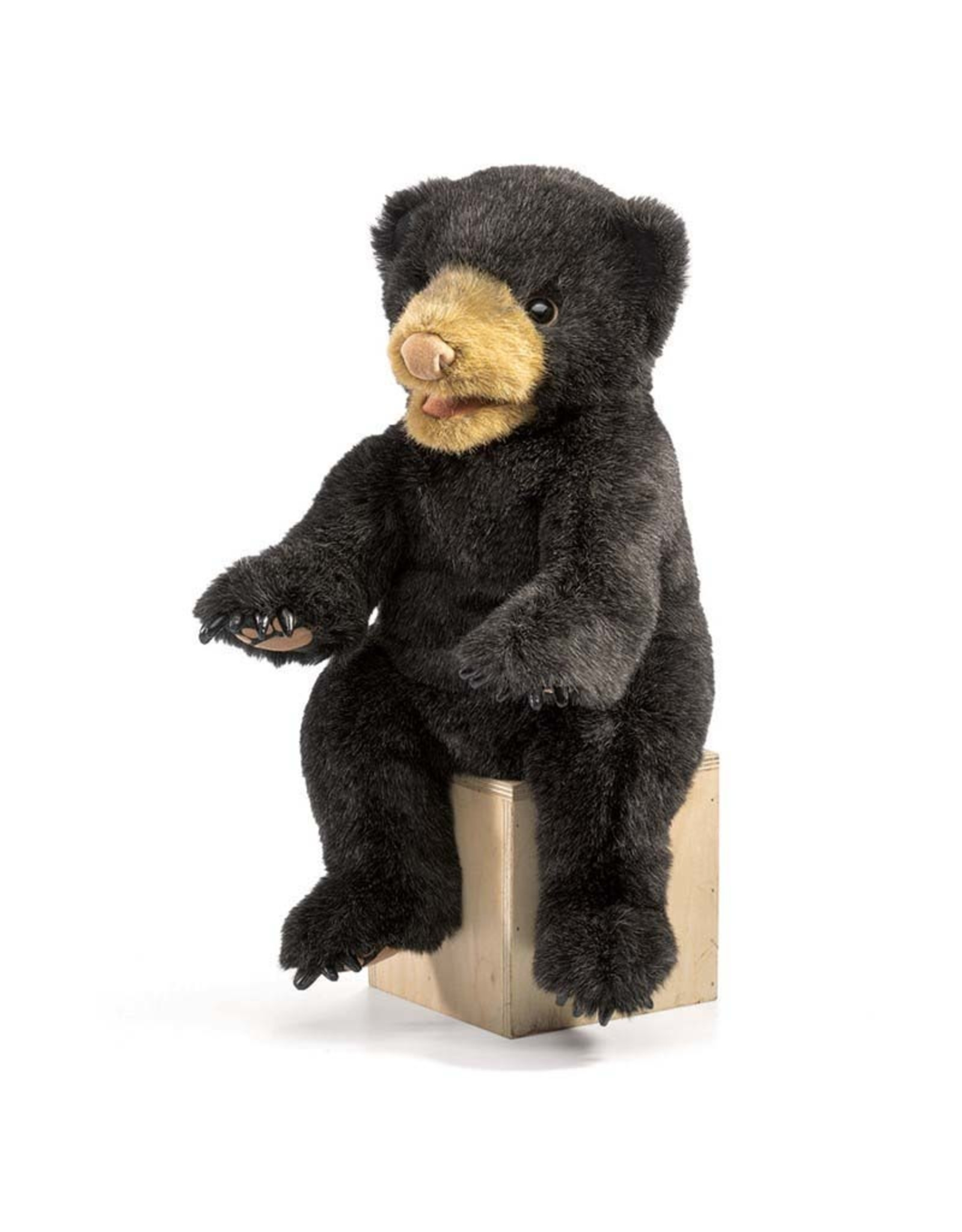 Folkmanis ! Folkmanis BEAR, BLACK CUB