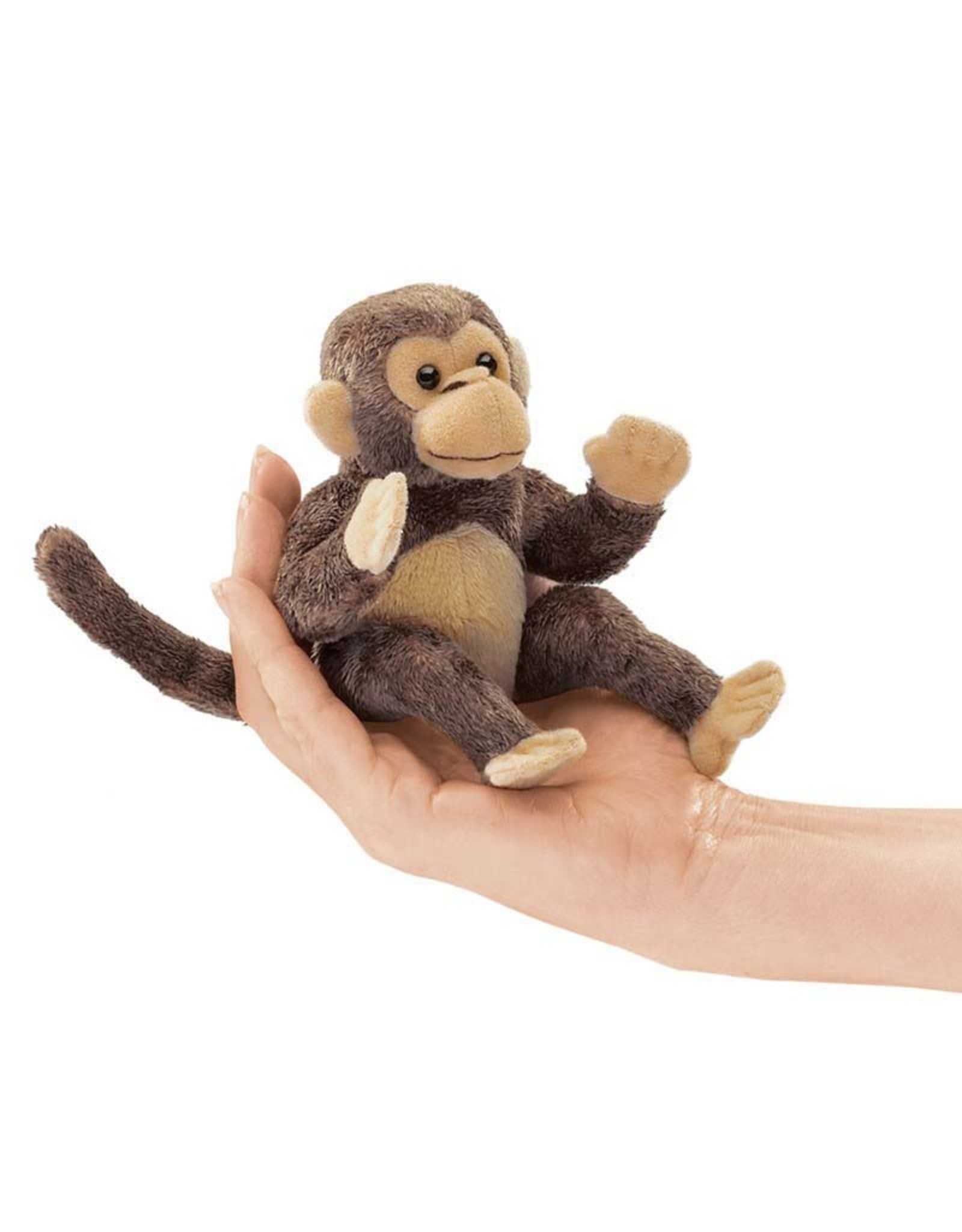 Folkmanis Folkmanis MINI MONKEY Finger Puppet