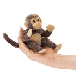 Folkmanis Folkmanis MINI MONKEY Finger Puppet