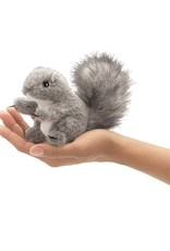 Folkmanis Folkmanis MINI GRAY SQUIRREL Finger Puppet