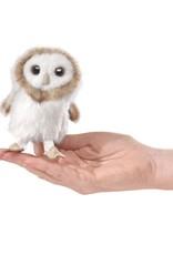 Folkmanis Folkmanis MINI OWL, BARN Finger Puppet